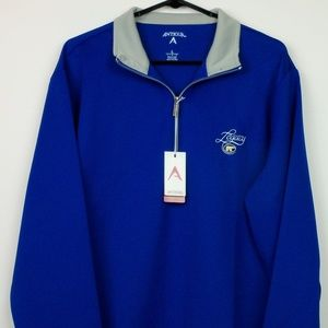 Antigua Golf Legacy 1/4 Zip Leader Pullover NWT